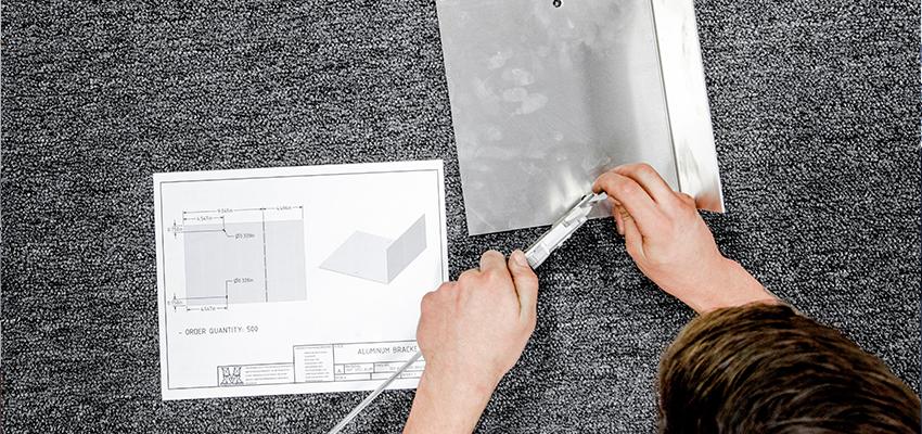 Precision sheet metal work