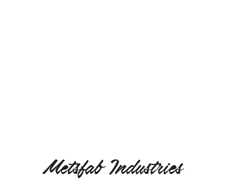 MetzFab Industries Logo_white
